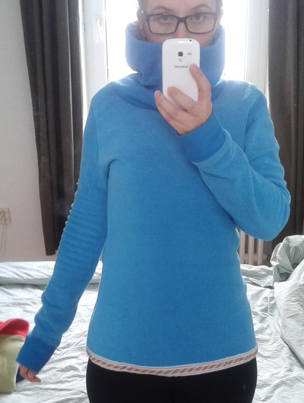 DIY: Fleece Pullover