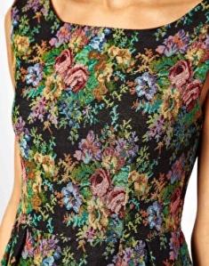 Asos: Glamorous – Gobelin-Kleid