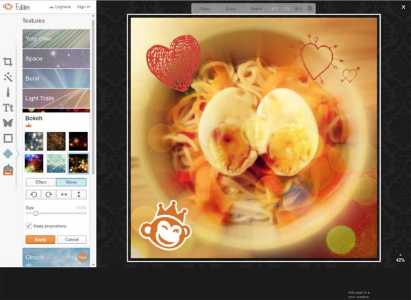PicMonkey Screenshot
