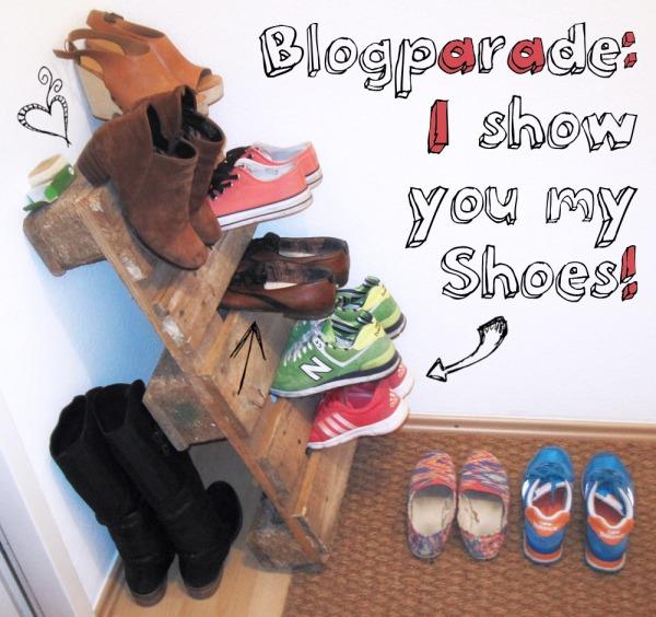 Blogparade: Schuhaufbewahrung