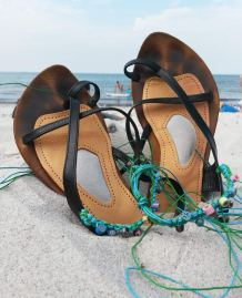 Sandalen im Sand: Work in Progress