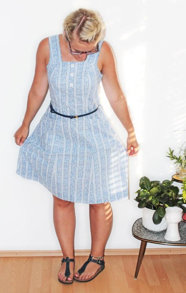 Refashion: Kleid nachher
