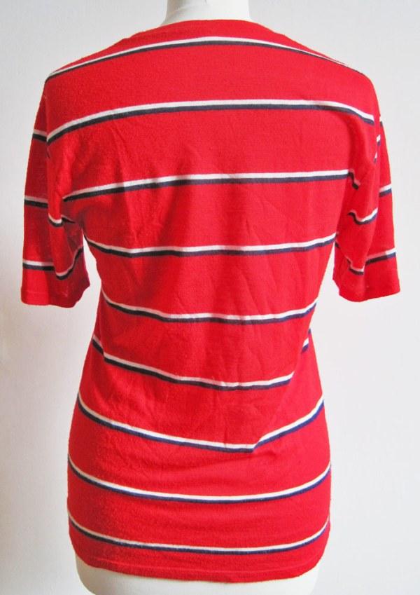 Refashion: Vintage Shirt - vorher