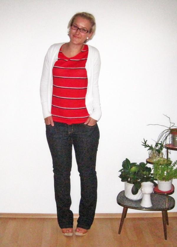 Refashion: Vintage Shirt - nachher