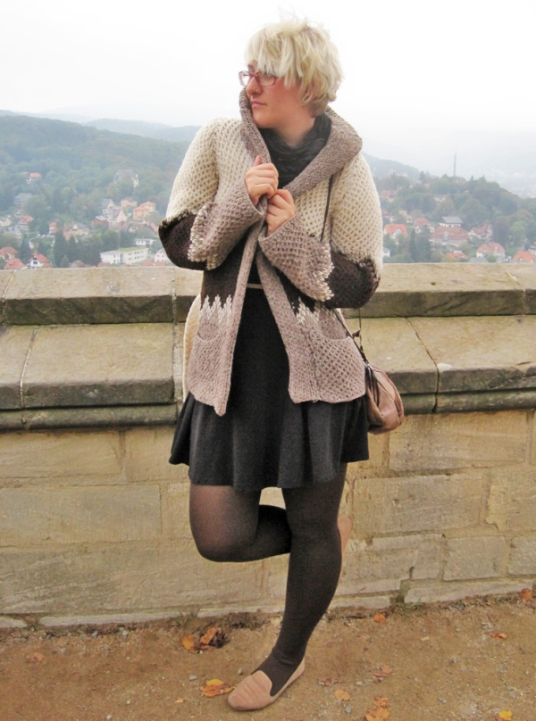 Throwback Style Thursday: Wolljacke von Oma