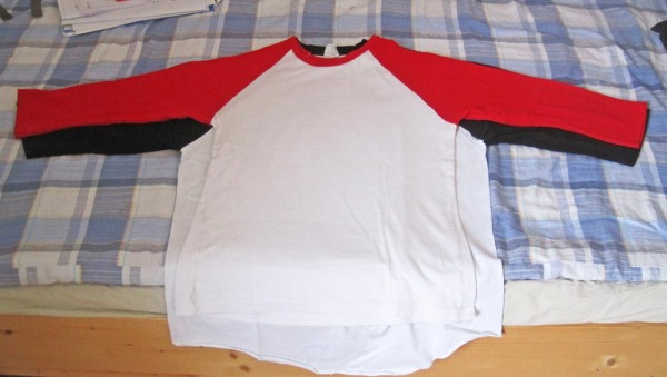 Refashion: Baseball-Tee