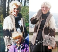 Thrifty Throwback Thursday: Wolljacke von Oma