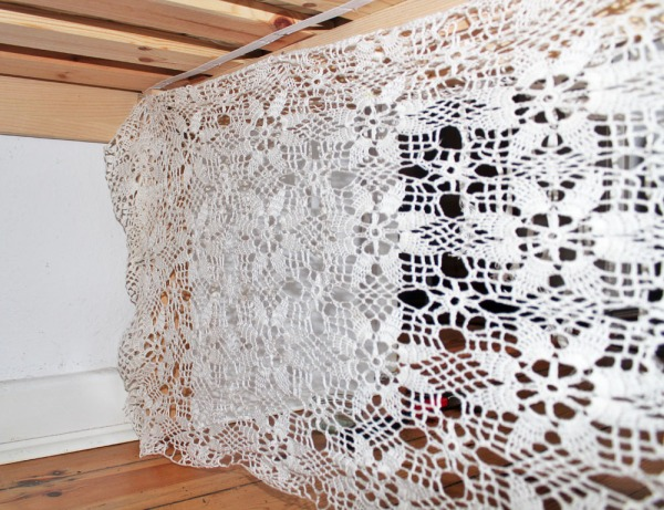 DIY: Häkelvorhang
