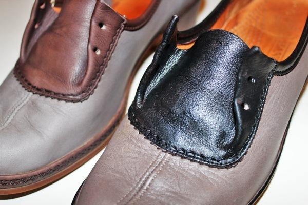 Refashion: Glitter Schuhe