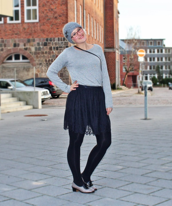 Outfit: Silvester-Glitzer