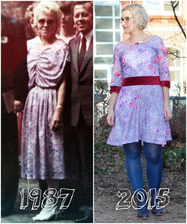 Thrifty ThrowbackThursday: Omas Festkleid
