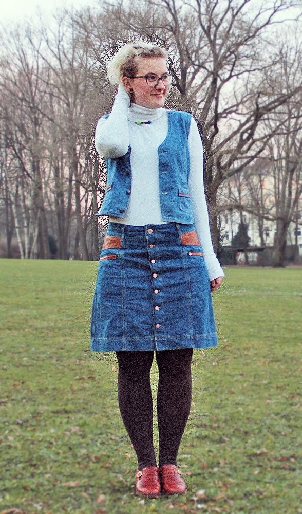 Inspiration: Button-Down Skirt