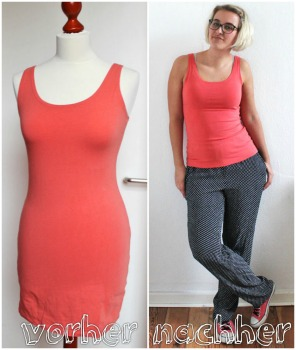Refashion: Dress to Shirt