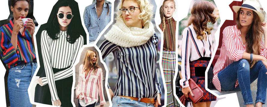 Ninutschkanns: DIY gestreifte Bluse